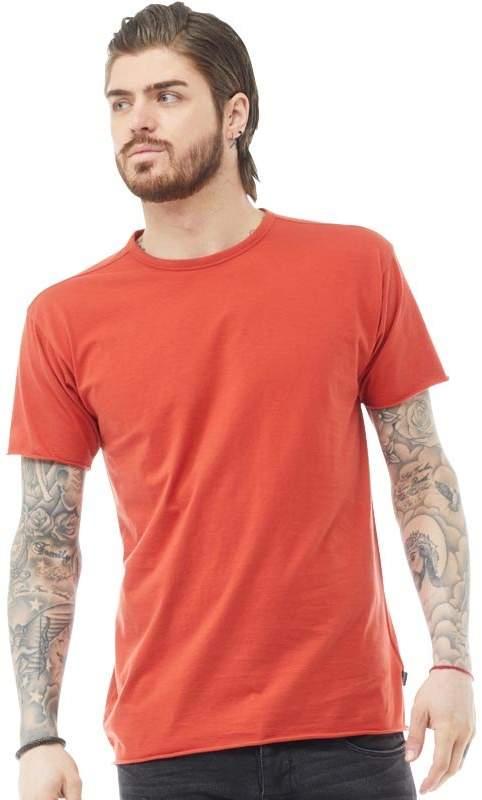 883 Police Herren Clarendon T-Shirt Ziegelrot