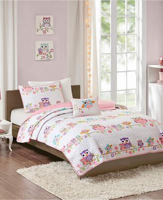Jla Home Mi Zone Kids Wise Wendy Twin 3 Piece Printed Coverlet Set Bedding