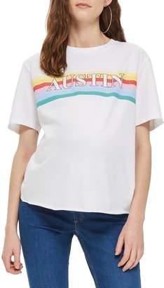 Topshop MATERNITY Austin Rainbow T-Shirt