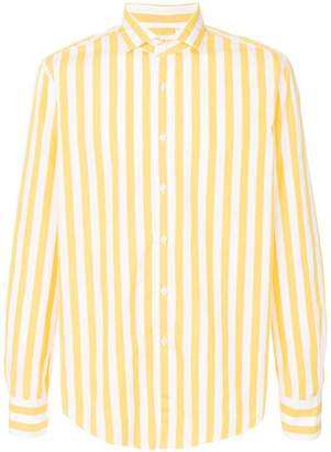 Xacus striped long sleeve shirt
