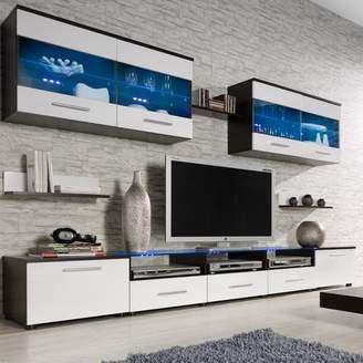 "Orren Ellis Cerie Entertainment Center for TVs up to 88"""