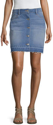 460b66b42a A.N.A Womens High Waisted Short Denim Skirt