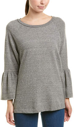 Current/Elliott Ruffle Sleeve Sweatshirt