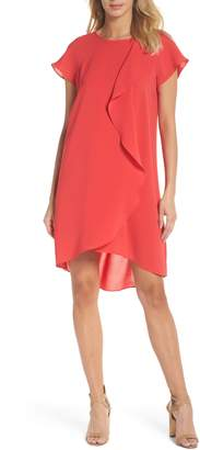Adrianna Papell Crepe Shift Dress