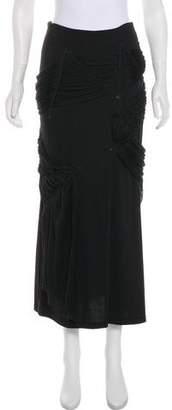 Issey Miyake Pleated Knee-Length Skirt w/ Tags