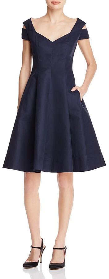 Paule KaPAULE KA Cold-Shoulder Dress