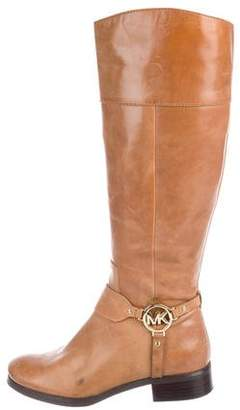 MICHAEL Michael Kors Leather Mid-Calf Boots