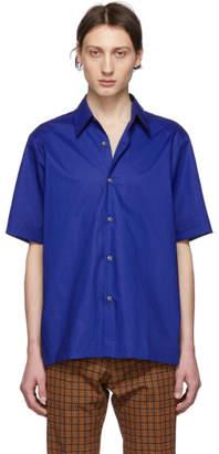 Dries Van Noten Blue Classic Classen Shirt