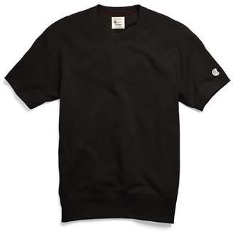 Todd Snyder + Champion Short Sleeve Sweatshirt in Black