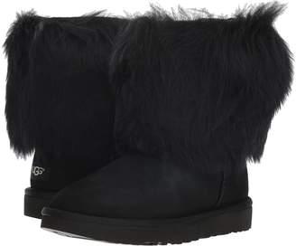UGG Short Sheepskin Cuff Boot Women's Boots