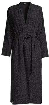 Eileen Fisher Women's Long Kimono Jacket - Black - Size XS