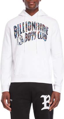 Billionaire Boys Club White Paisley Arch Logo Pullover Hoodie
