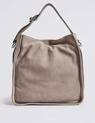 M&S Collection Suede Hobo Bag
