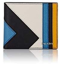 Prada Men's Leather Billfold-Black