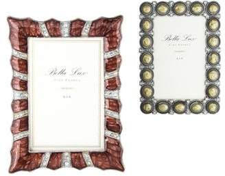 2-Piece Bella Lux Enameled Frame Set