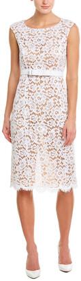 Michael Kors Collection Silk-Lined Sheath Dress