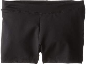 Capezio Team Basic Boycut Low Rise Shorts Girl's Shorts