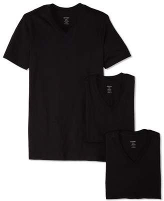 2xist Essential Cotton 3 Pack V-Neck T-Shirt