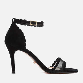 894ec8108c7 Dune Women s Maam Suede Barely There Heeled Sandals - Black