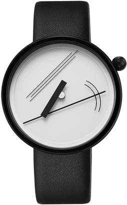 Projects Watches Diagram 17 White & Black Watch