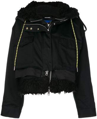 Diesel W-LOTTI hooded jacket
