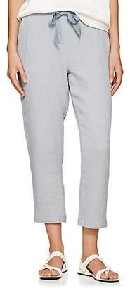 Raquel Allegra Women's Cotton Gauze Drawstring Pants