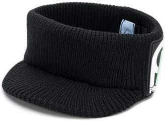 Prada knitted visor