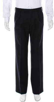 Dries Van Noten Flat Front Casual Pants