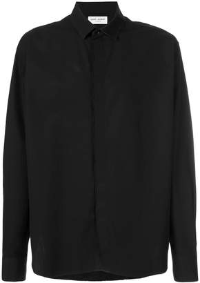 Saint Laurent Replié collar shirt