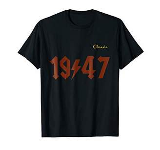 Vintage Classic of 1947 Retro birthday gift t shirt