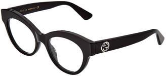Gucci Women's Gg0030o 49Mm Optical Frames