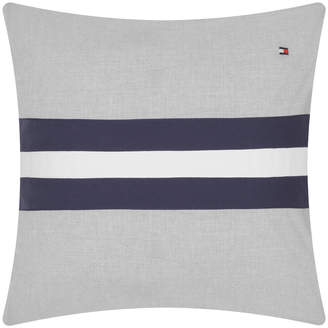 Tommy Hilfiger Colour Block Cushion - 40x40cm - Grey