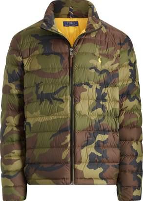 Ralph Lauren Camo Packable Down Jacket