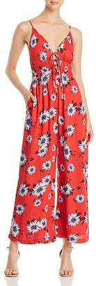 Yumi Kim Madison Ave Floral-Print Jumpsuit