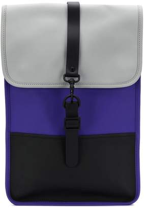 Rains matte water-resistant backpack