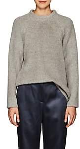 Martin Grant Women's Alpaca-Wool Belted Sweater-Light Gray