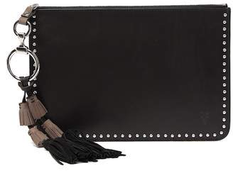 Frye Ilana Western Leather Zip Pouch