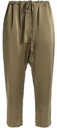 Zimmermann Washed-Silk Tapered Pants