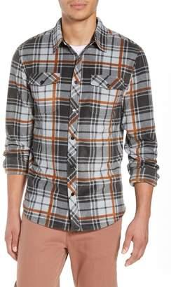 O'Neill Glacier Plaid Fleece Shirt