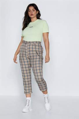 Nasty Gal Dressed to the Lines Tapered Pants