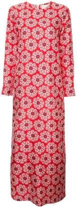 La DoubleJ flower print maxi dress