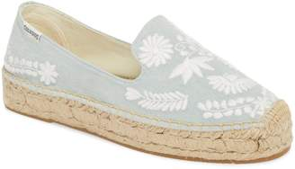 Soludos Ibiza Embroidered Loafer Espadrille