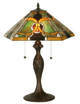 "Tiffany & Co. Meyda Moroccan 22.5"" Table Lamp Meyda"