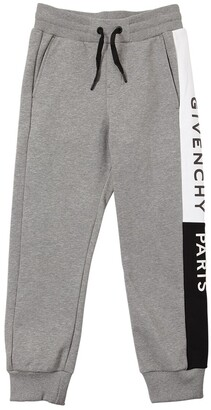 Givenchy Logo Print Cotton Sweatpants