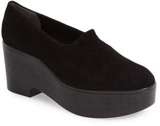 Robert Clergerie 'Xalo' Platform Loafer Pump (Women) $475 thestylecure.com