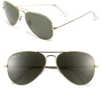 Ray-Ban (レイバン) - Ray-Ban Original 58mm Aviator Sunglasses