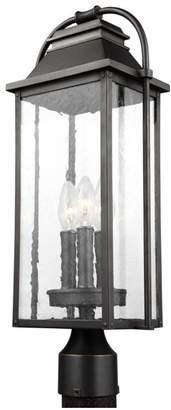 Feiss 3-Light Post Lantern