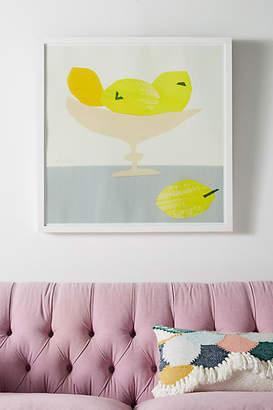 Soicher Marin Susan Hable for Still Life Series - Lemons Wall Art