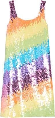Flowers by Zoe Sequin Stripe Dress