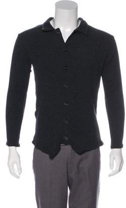 Paul Harnden Shoemakers Wool Button-Up Cardigan